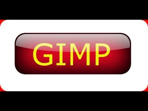 GIMP 2.6 tutorial for beginners -  Shiny Glossy Button - This works with 2.8 as well.