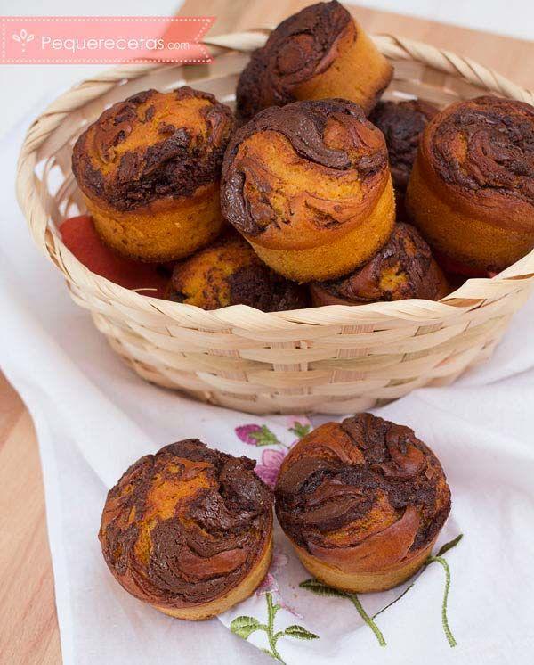 Mejores 15 im genes de recetas de cupcakes en pinterest - Pequerecetas magdalenas ...