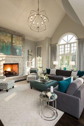 ▷ 1001 + Ideen für Wohnzimmer Wandfarbe 2018 Living room decor - wohnzimmer orange beige