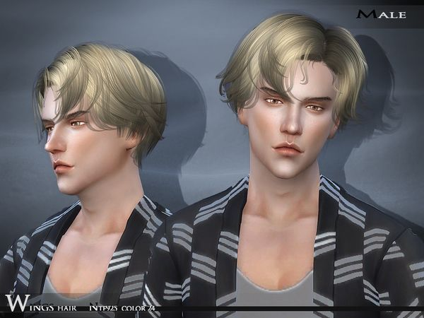 Hair NTF925 F/M by Wings Sims at TSR via Sims 4 Updates                                                                                                                                                                                 Más
