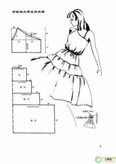 Cucire semplici abiti estivi.  I modelli 100 modelli !!!