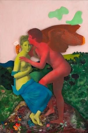 Martial Raysse, Tableau simple et doux, 1965