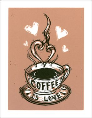 Delicious coffee is a work of art! We feel love in every cup we drink too. #coffeelove #art #mrcoffee