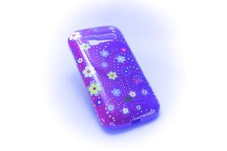 Carcaza con goma protectora Alcatel One Touch C5 Flores — HighTeck Store