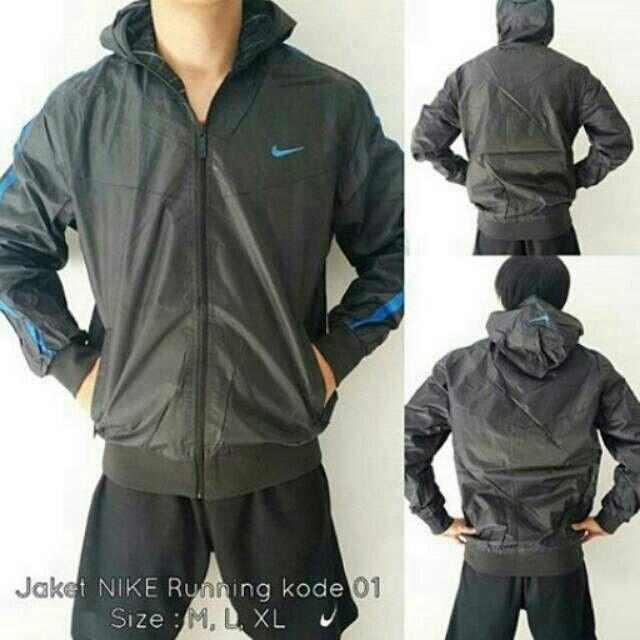 Saya menjual JAKET NIKE RUNNING BLACK kode 01 seharga Rp220.000. Dapatkan produk ini hanya di Shopee! http://shopee.co.id/wfashioncenter/1783008 #ShopeeID