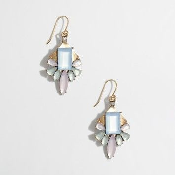 J.Crew J. Crew Earrings Pastel Dragonfly with J. Crew Fabric Gift Bag Included New