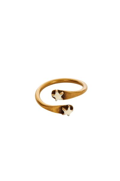 Isabel Marant Hoshi Star Ring at Iris