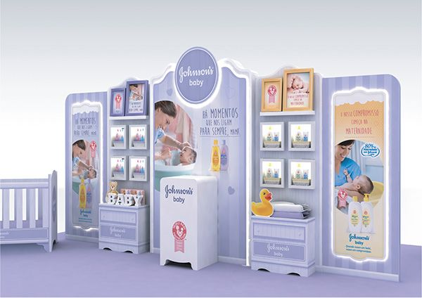 Johnson's Baby Event on Behance