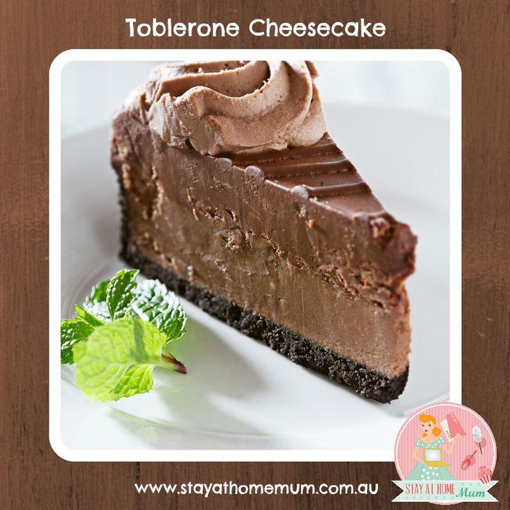 Toblerone Cheesecake | Stay at Home Mum