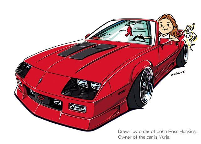 Ozizo Art Show 変な車 改造車 車 絵