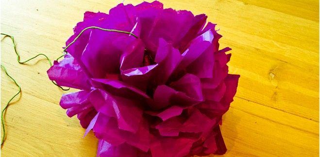 DIY: Bloemen van papier