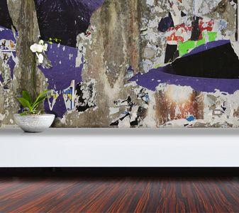 belles matières / incréation • revêtement mural et papier peint sur mesure