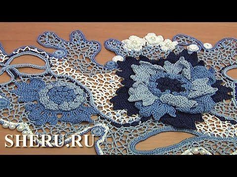 Великолепная подборка вязаных изделий Часть 2 из 2 Irish Lace Collection - YouTube