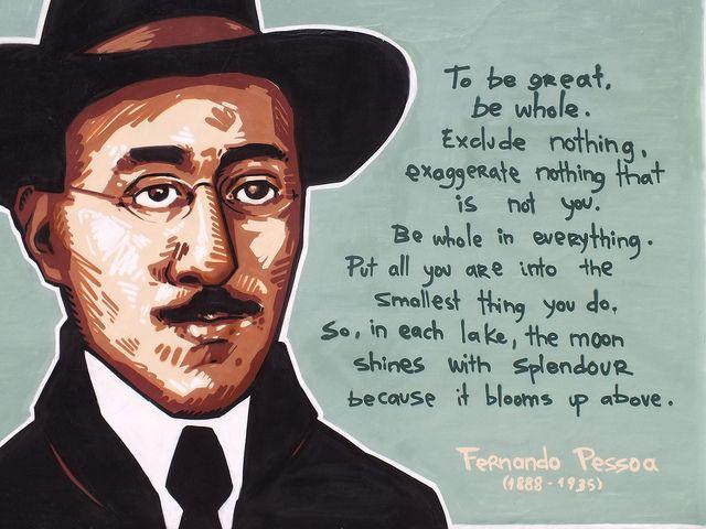 Fernando Pessoa street art by Sphiza, Bristol.