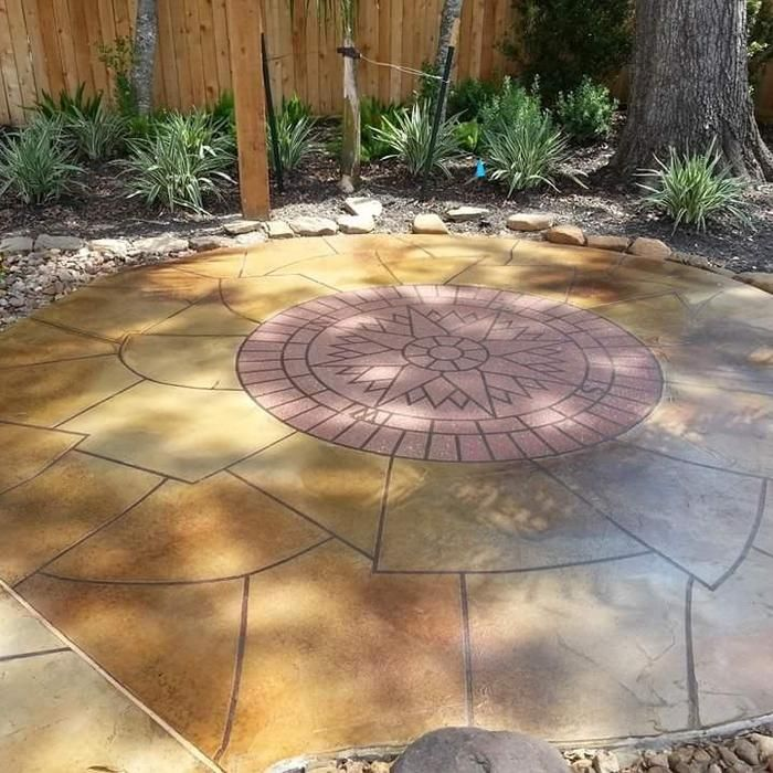 Best 25 concrete patio cost ideas on pinterest stamped for Shell driveway calculator