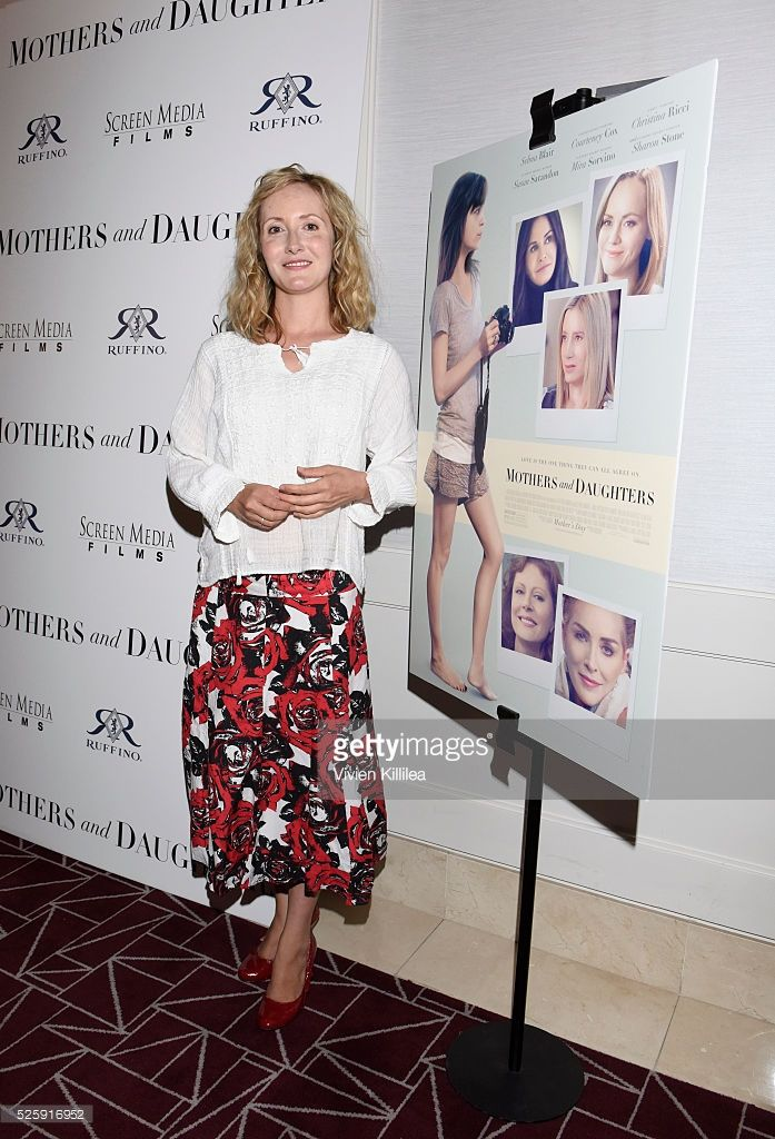 Producer Danielle James CEO/founder SIEMPRE VIVA PRODUCTIONS w/SCREEN MEDIA FILMS and sponsor RUFFINO WINE Presents The Los Angeles Premiere Of 'Mothers And Daughters' at The London West Hollywood on April 28, 2016 in West Hollywood, California - AMAZING AND BEAUTIFUL ACCOMPLISHMENT DANIELLE for your company's first film project.  -- So so proud of you.  Premiere April 28, 2016