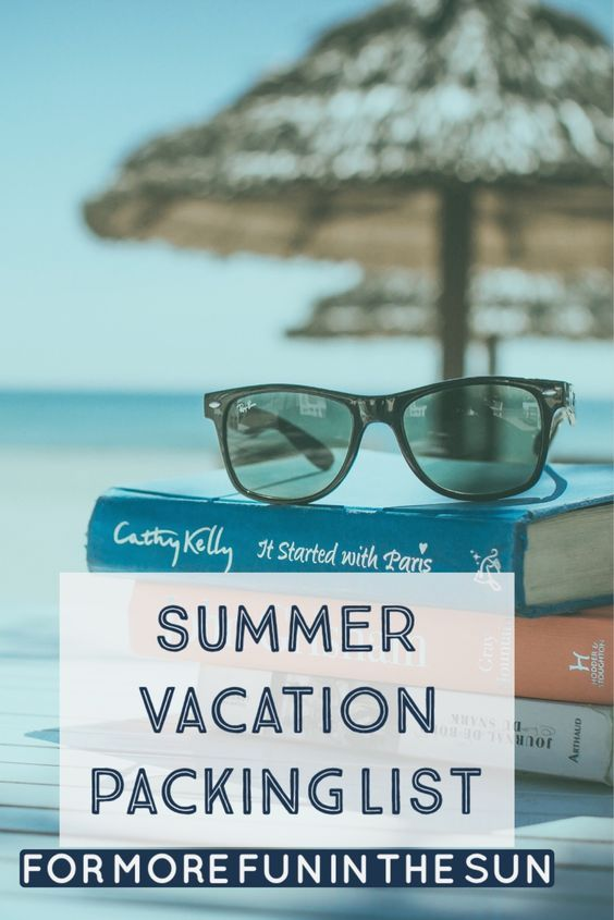 Best  Summer Vacation Packing Ideas On   Vacation