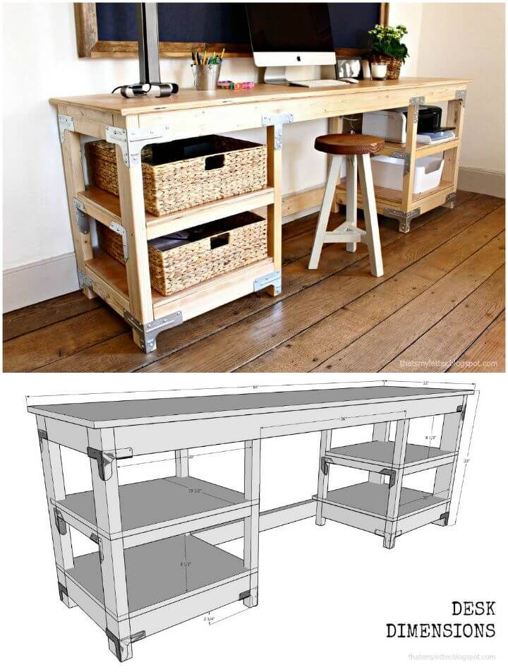 Swell Diy Desk Plans Top 44 Diy Desk Ideas You Can Make Easily Pdpeps Interior Chair Design Pdpepsorg