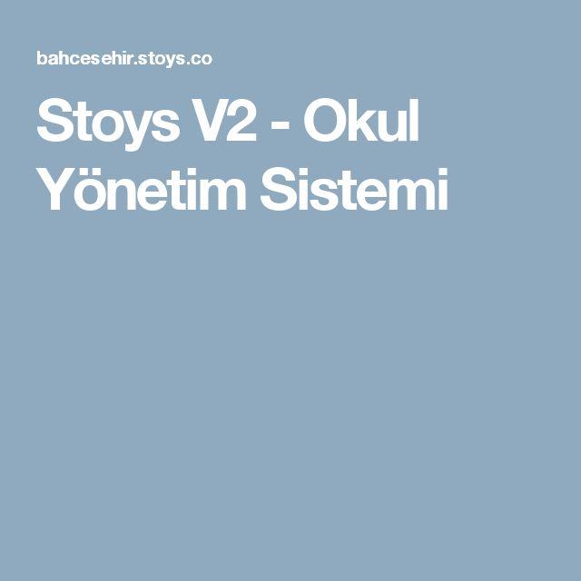 Stoys V2 - Okul Yönetim Sistemi