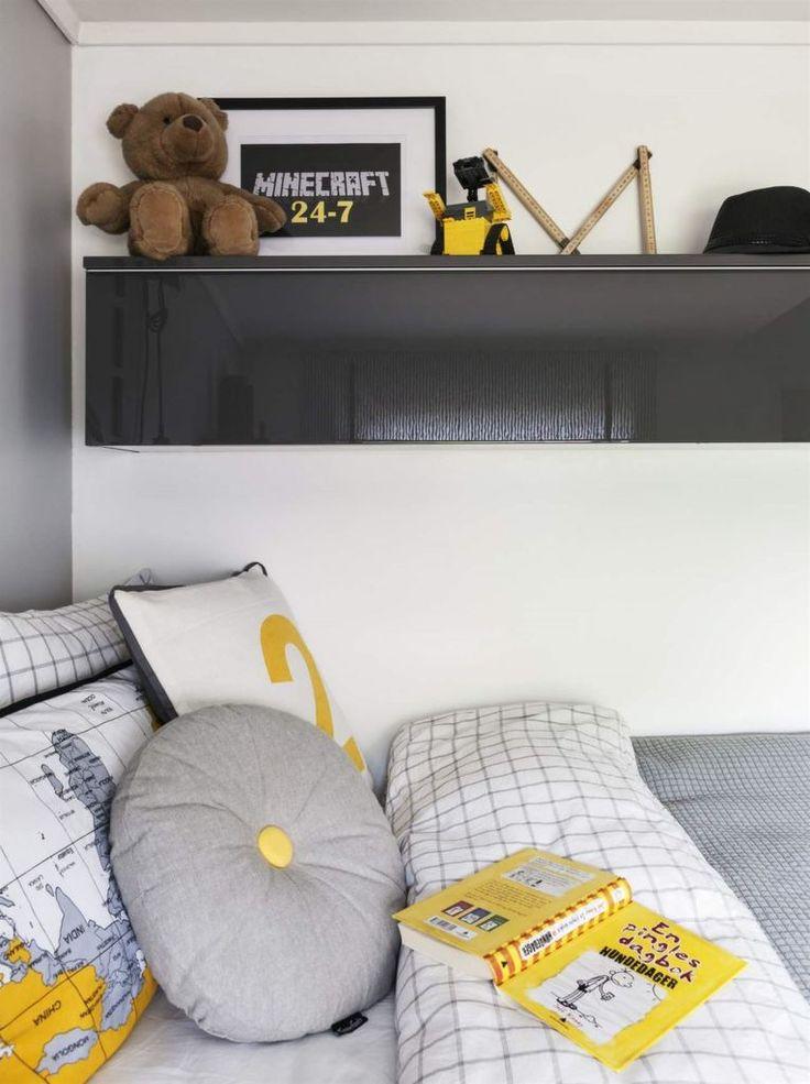 Сдержанные цвета интерьера с яркими акцентами позволят комнате меняться вместе с…