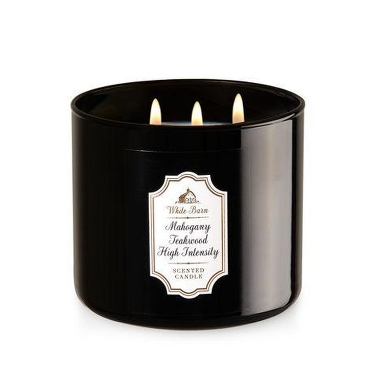 MAHOGANY TEAKWOOD HIGH INTENSITY 3-Wick Candle  #sales #family #gotyoucovered #amazon #disney