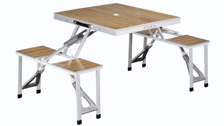 Outwell Deluxe Folding Camping Table And Chairs Set