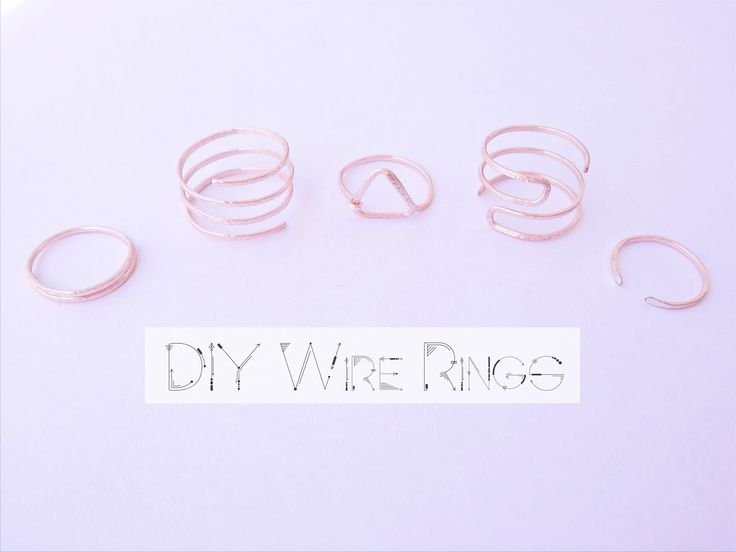 DIY Wire rings