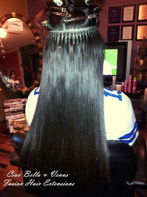 Micro Link Hair Extensions For Black