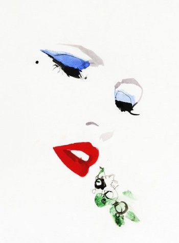 David Downton Couture, Luxure Beauty, 2012