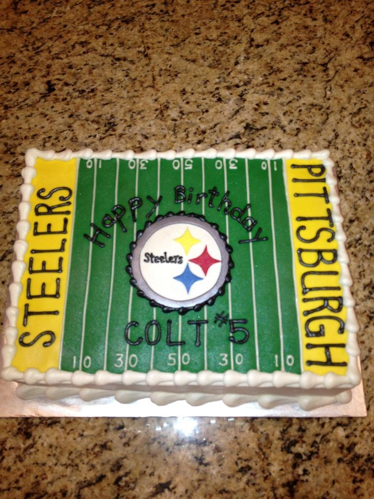 Football / NFL - Pittsburgh Steelers Cake
