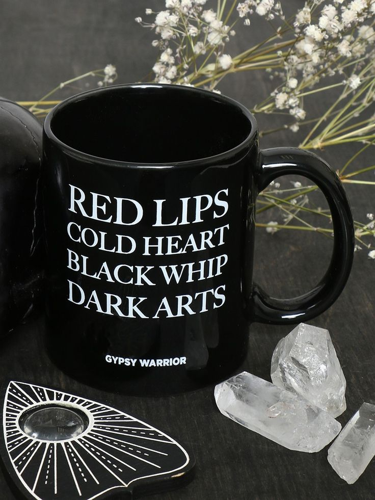 Red Lips Mug - Gypsy Warrior