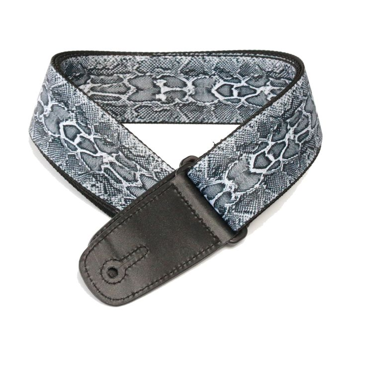 """Guitar Strap with """"Snakeskin"""" Design available on our Fretfunk website and eBay store now"""