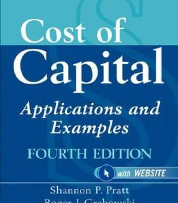 Cost Of Capital: Applications And Examples 4 Edition PDF