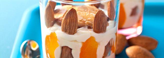 Tiramisu aux abricots et aux amandes Recette Facile | Il Gusto Italiano