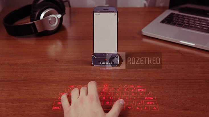 New Samsung Galaxy S4 Release Date and Features Shows Projected Keyboard