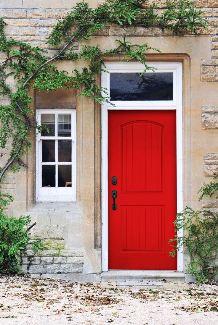 29 best images about smooth skin doors on pinterest for Red steel front door