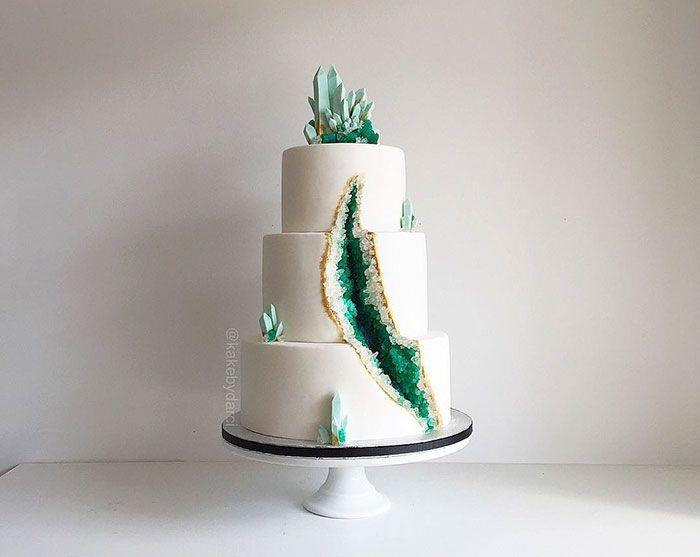 #bolo #casamento #geode                                                                                                                                                                                 Mais