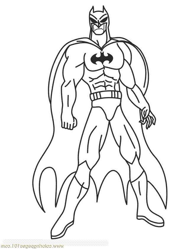 14 Magnificient Coloriage Batman Gallery Superhero Coloring