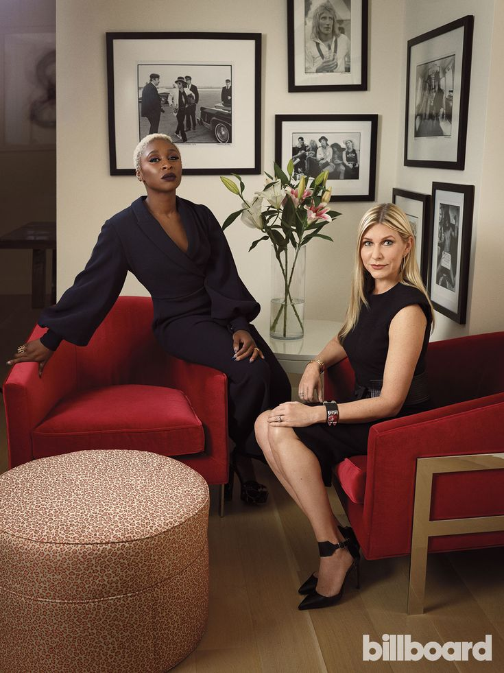 United Talent Agency client Cynthia Erivo (left) and Natalia Nastaskin photographed on Nov. 10, 2017 in New York.