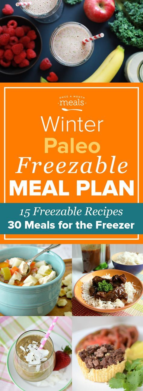 Enjoy the perks of the paleo lifestyle while spending less time in the kitchen with this winter menu of paleo freezer meals. Sweet and savory Mongolian beef, bacon wrapped chicken stuffed with spinach, and kale fortified Nilla Berry Smoothies are just a few of the freezable recipes ready to make and save for another day.