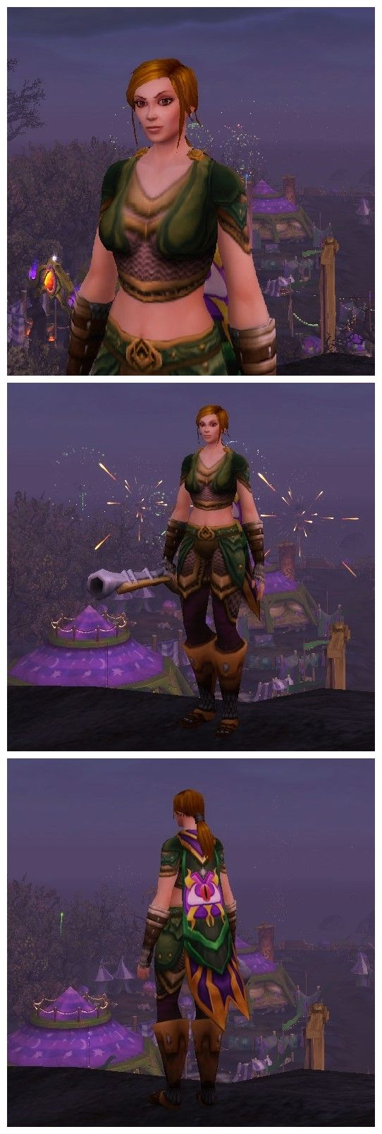Darkmoon Mail transmog.