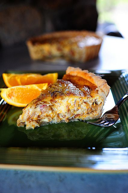 Cowboy Quiche with bacon, cheddar and onions | The Pioneer Woman