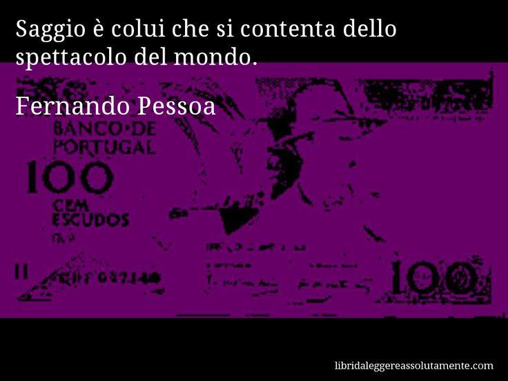 Cartolina con aforisma di Fernando Pessoa (23)
