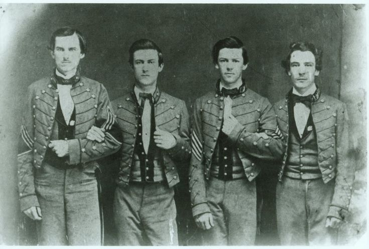 Members Of The Citadel Class of 1862 During the Civil War, the SCMA Corps of Cadets was organized into a military unit known as the Battalion of State Cadets which took part in nine engagements. In January 1861, Citadel Academy cadets manning a...