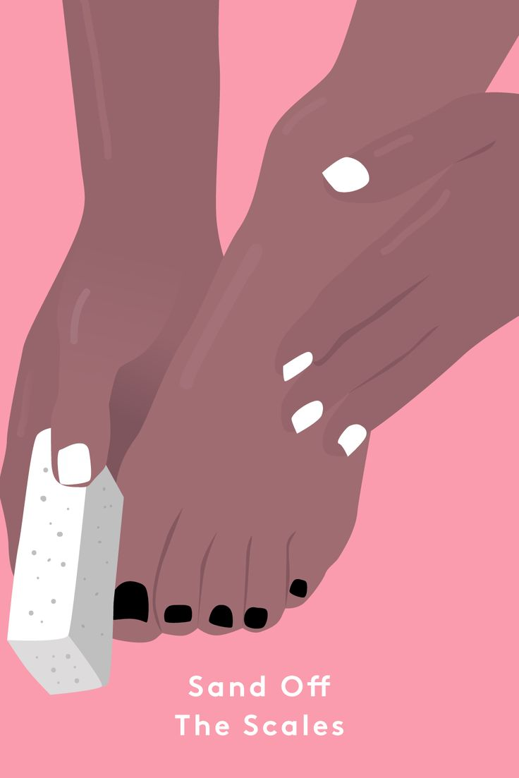 "No matter how well you moisturize, you'll still develop a layer of scaly, dead skin that needs to be exfoliated. Once or twice a week, Sirot uses a sugar scrub to polish her feet. ""I like the texture, and it's a gentle way to exfoliate,"" she says. ""I have to be careful not to irritate the tops of my feet, which are much more delicate than the soles."" She makes her own with olive oil and sugar, but..."