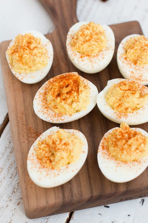 This is our all time favorite recipe for the classic deviled eggs. It may not be anything too crazy, but the little additions make it the best