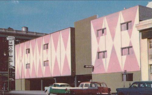 The Mart Motel in San Francisco 1950s
