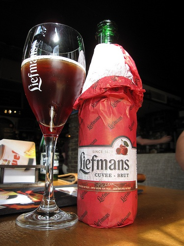Liefmans Cuvée Brut. The best kriek beer, mate. No doubt about it.
