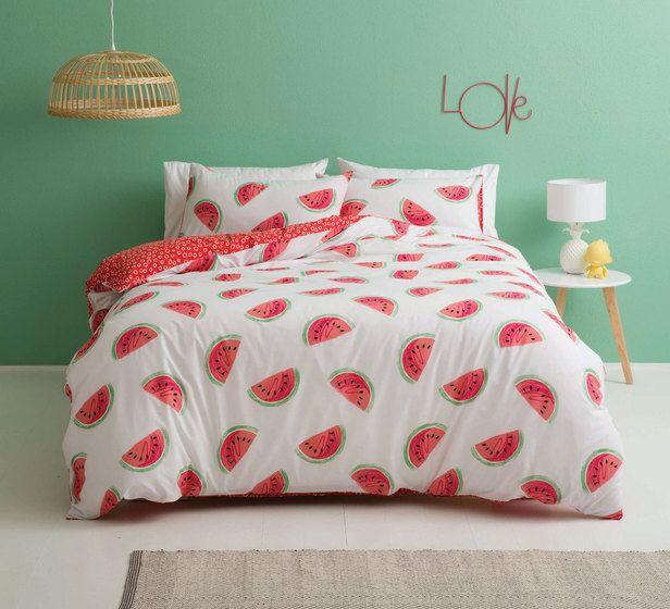 Watermelon Single Quilt Cover Set
