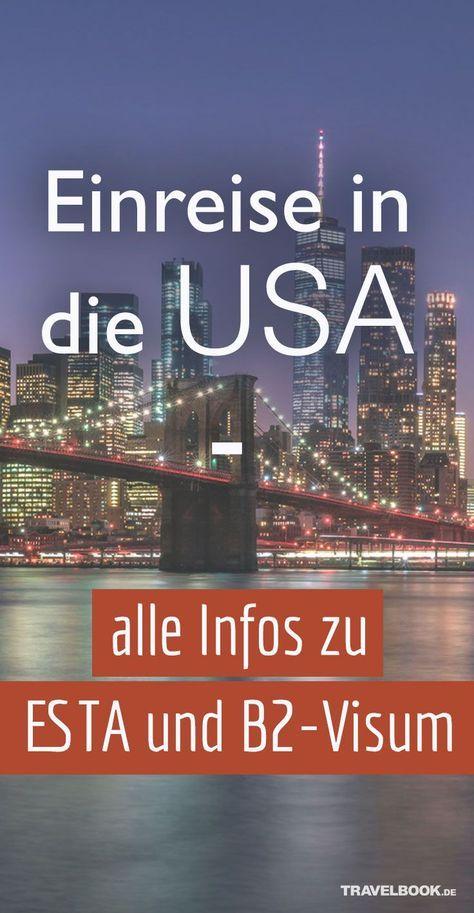 Einreise in die USA – die wichtigsten Informationen zu ESTA-Antrag und Visum